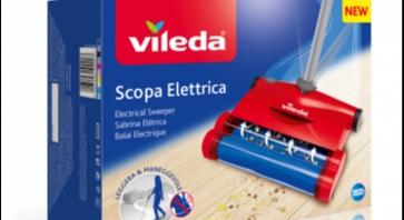 Vileda nuova scopa elettrica for Ricambi scopa elettrica vileda