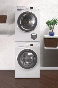 Hotpoint presenta le novit per il lavaggio e l asciugatura - Sovrapporre asciugatrice e lavatrice ...