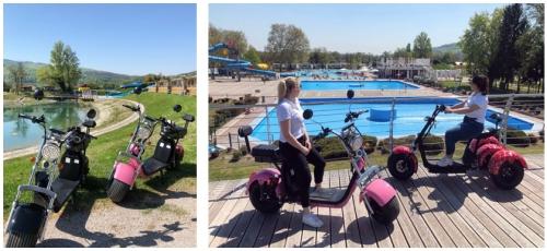 351cc3bcd4 Terme Catez: tutti in e-bike ed e-scooter all'insegna dell'ecoturismo