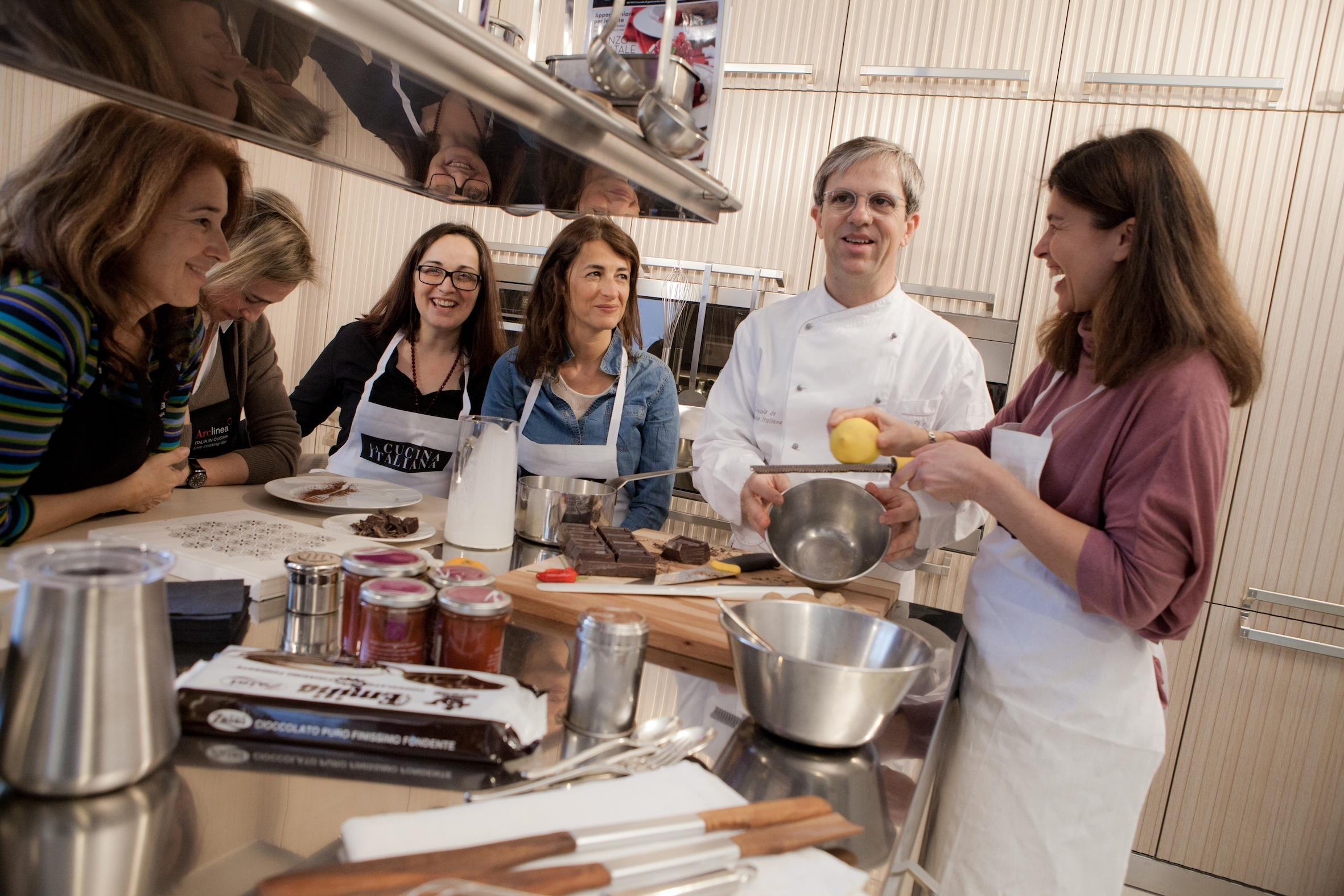 La scuola de la cucina italiana: i nuovi corsi nella nuova sede
