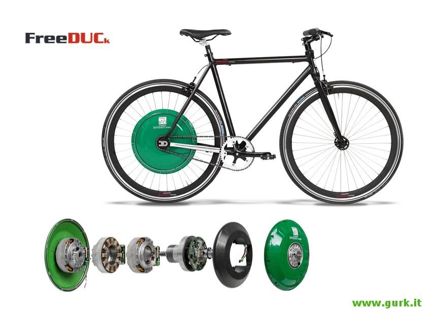 Bicicletta Ducati Pedalata Assistita
